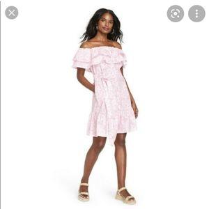 Lisa Marie Fernandez Target Pink Floral Dress S
